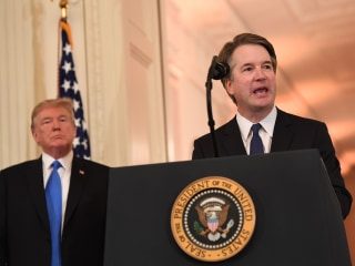Kavanaugh allegations add yet another crisis to a besieged White House