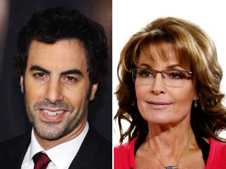 Sarah Palin accuses Sacha Baron Cohen of duping her for Showtime series
