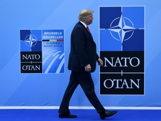 Trump's wrecking ball tears through NATO