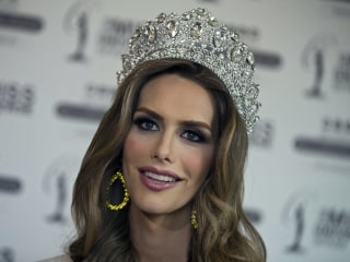 Transgender Miss Universe contender speaks up for trans kids