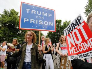 Trump in Britain: President faces dozens of protests across U.K.