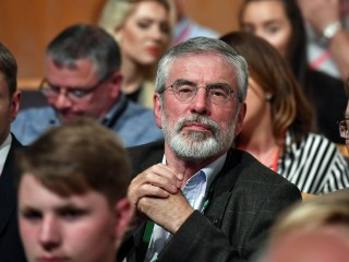 Explosive thrown at house of former Irish nationalist leader Gerry Adams