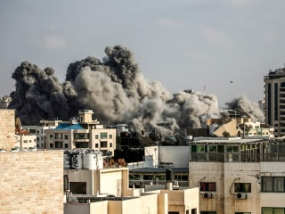 Gaza ceasefire largely holds after day of intense Israel-Hamas fighting