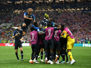France defeats Croatia, 4-2, to win World Cup
