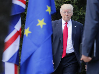 Trump calls E.U. 'a foe,' claims 'nothing bad' to come from meeting Putin