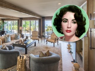 Elizabeth Taylor's former estate is for sale — and it's a classic beauty