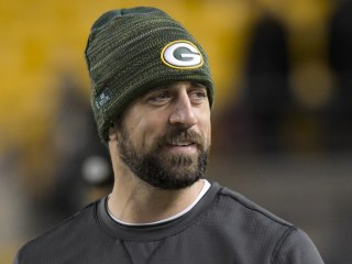 Aaron Rodgers isn't scared — of aging, new contracts or sharks (anymore)