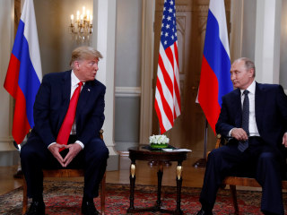 WATCH LIVE: Trump and Putin hold joint press conference after one-on-one meeting