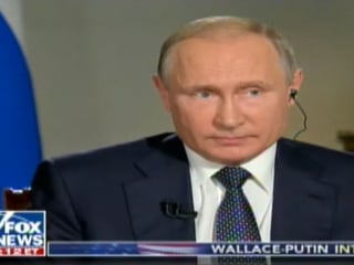 Vladimir Putin: Russia has no dirt on Donald Trump