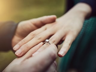 Diamonds aren't forever: Why cheaper engagement rings may mean a longer marriage