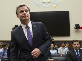 FBI Director Wray hints that he considered resigning, restates belief in Russian election meddling