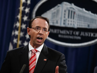 House Republicans file impeachment resolution against Deputy AG Rod Rosenstein