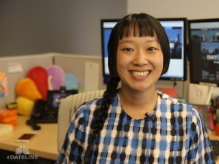 At the Desk of: Julie Kim, Field Producer