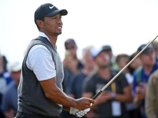 Tiger Woods has a chance at major No. 15 as The Open enters final day