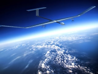 This 'pseudo-satellite' drone can fly 70,000 feet up in the sky