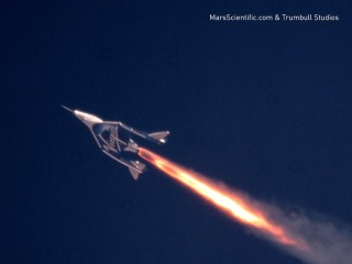 Virgin Galactic spaceplane smashes altitude record in latest test flight