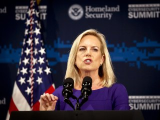 Trump's DHS chief Kirstjen Nielsen: 'Let me be clear. It was the Russians.'