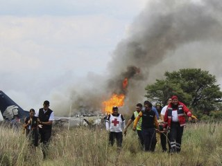 Aeroméxico crash: How everyone aboard jet survived