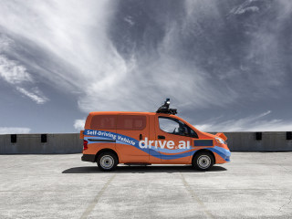 What's big, orange and covered in LEDs? This start-up's new approach to self-driving cars