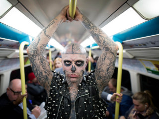Lady Gaga pays tribute to Zombie Boy after model's death at 32
