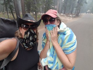 Large portions of Yosemite National Park remain closed as heavy smoke lingers