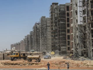 Egypt builds a new capital city to replace Cairo