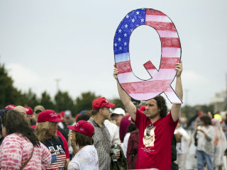 Russian troll accounts purged by Twitter pushed Qanon and other conspiracy theories