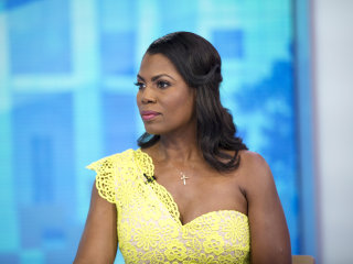 Omarosa Manigault Newman reveals recording she made of Trump day after she was fired