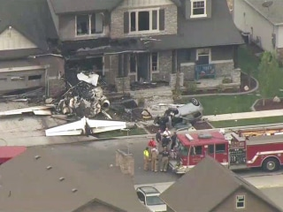 Utah man crashes plane into his own house after assaulting wife, police say