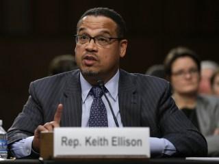 Ellison denies abuse allegations from ex-girlfriend