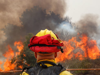 Firefighter fatality marks first death in California's biggest blaze