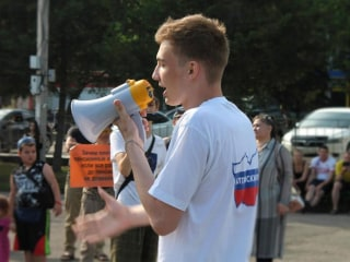 'Not scared': Russian teen charged under 'gay propaganda' law says he'll keep protesting
