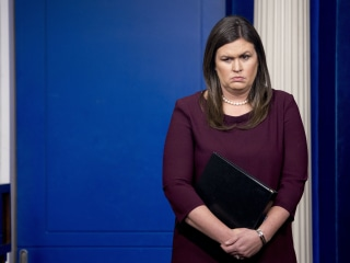 Sarah Sanders 'sorry' for misleading black jobs numbers