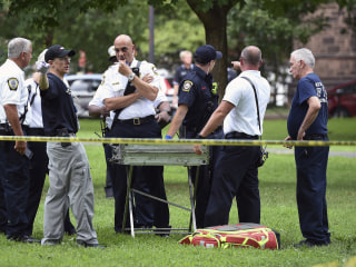 Massive emergency response in Connecticut park after at least 42 suspected overdoses