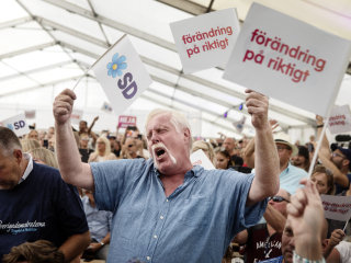 Far-right Sweden Democrats hope to topple century of socialism