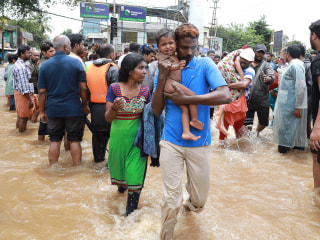 Worst floods in a century leave hundreds dead, scores displaced in India's Kerala