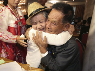 Korean families divided by war meet for heart-wrenching reunions
