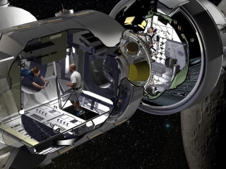 Astronauts could stay at this space 'motel' on the way to Mars