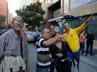 Major 7.3-magnitude earthquake rocks Venezuela