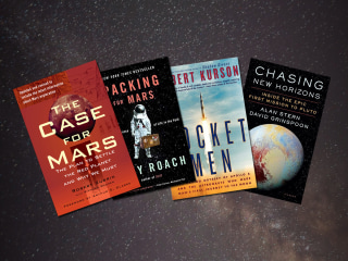 17 books that will teach you everything you need to know about space