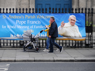 Pope Francis set to face questions, anger during Ireland visit
