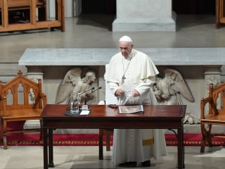 In visit to transformed Ireland, pope says he shares outrage over sex abuse scandals