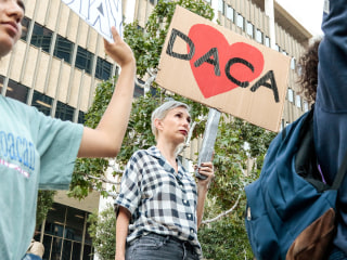 Trump administration presses Supreme Court for quick action on DACA