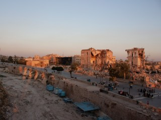 Aleppo's reconstruction is in full swing after years of war
