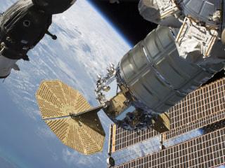 Kapton tape used to seal leak on International Space Station