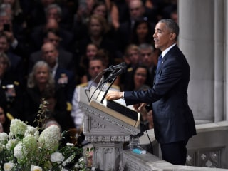 Read the full text of Barack Obama's speech at John McCain's memorial service