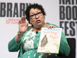 The key to Supreme Court Justice Sonia Sotomayor's successful journey? It's books, she says