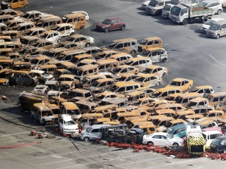 Typhoon Jebi leaves path of destruction in Japan