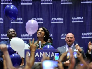 Ayanna Pressley defeats 10-term incumbent Mike Capuano in Democratic primary in Massachusetts
