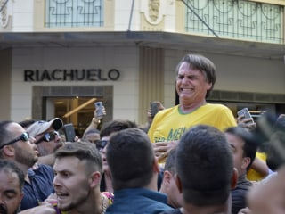 Brazilian presidential candidate stabbed at campaign rally